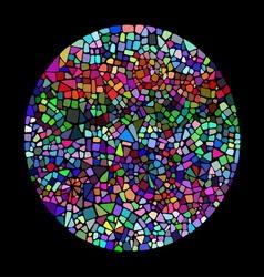 Bright mosaic texture vector image
