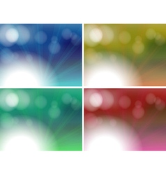 Different color combinations vector