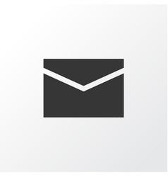 Mail icon symbol premium quality isolated vector