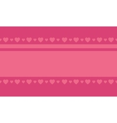 Valentine love on pink backgrounds vector
