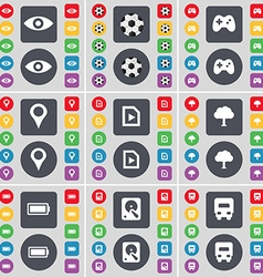 Vision ball gamepad checkpoint media file tree vector