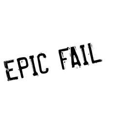 Epic fail rubber stamp vector
