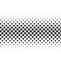 Huge dots halftone background Overlay vector image vector image