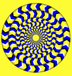 Hypnotic of rotation perpetual rotation vector