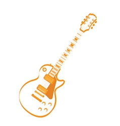 Isolated musical instrument vector image vector image