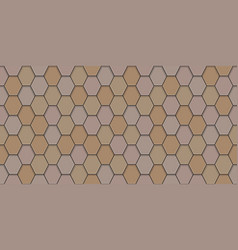 Old roof tiles seamless pattern vector