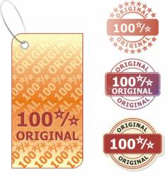 original stickers vector image