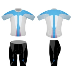 T shirt cyclist vector