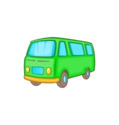 Classic van retro style icon cartoon style vector image