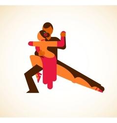 Tango dancer - vector image