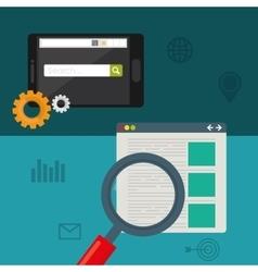 Search Engine Optimization design vector image