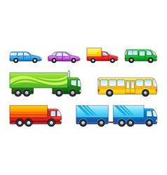 Motor transport vector image vector image