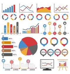 Graphs and Diagrams vector image
