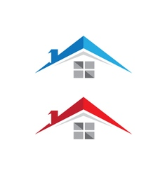 Property logo template vector