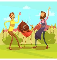 Barbecue cartoon vector