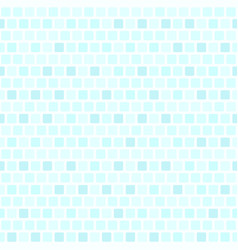 Cyan rounded square pattern seamless vector