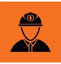 Electric engineer icon vector