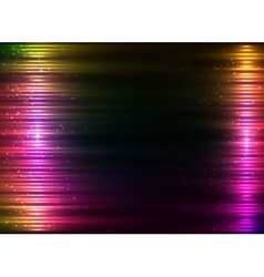 Pink shining technology lights sound background vector