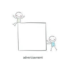 Advertisement vector