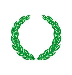 Laurel wreath vector