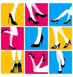 Attractive Sexy Legs vector image