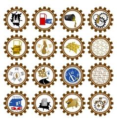 Petroleum Industry vector image vector image