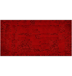 Grunge red abstract mosaic background vector
