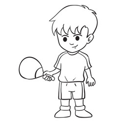 Character of boy style design collection vector