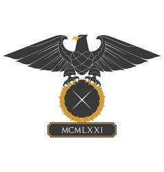 Heraldic eagle 22 vector