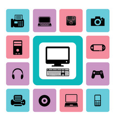 icon it vector image