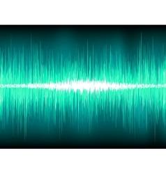 Sound waves oscillating background vector image