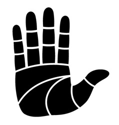 Clean hand imprint vector