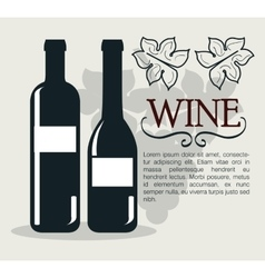 Wine shop template isolated icon design vector