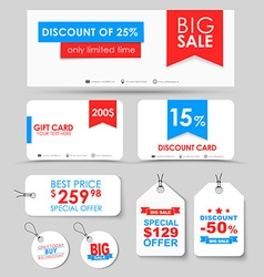 Corporate identity design for sale vector
