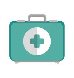 Emergency kit box vector