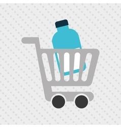 grocery market design vector image