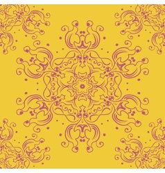 Lace abstract pattern vector image vector image