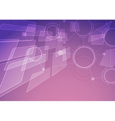Modern abstract connectivity background vector image