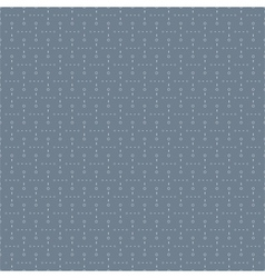 Seamless Blue Pattern with Dots vector image