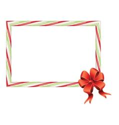 Candy cane frame4 vector