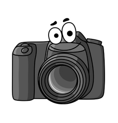 Cartoon digital camera vector image