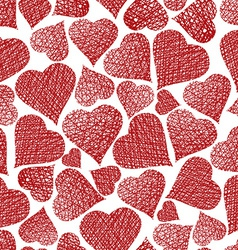 Love theme seamless background hearts seamless vector