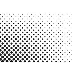 Huge dots halftone background overlay vector