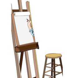 Art workshop vector image