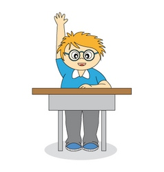 child in school vector image vector image