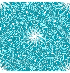 Doodle seamless background in with doodles vector