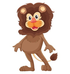 Mr lion vector image vector image