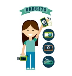 Gadgets tech vector