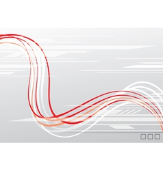 abstraction of lines vector image