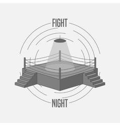 Boxing Ring Logo vector image